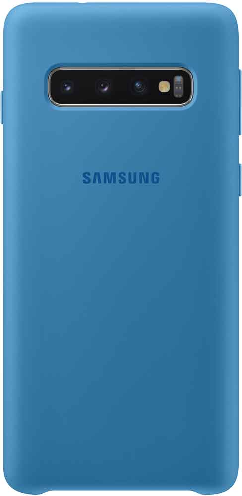 Клип-кейс Samsung Galaxy S10 TPU EF-PG973TLEGRU Blue клип кейс samsung dual layer ef pj330 для galaxy j3 2017 голубой