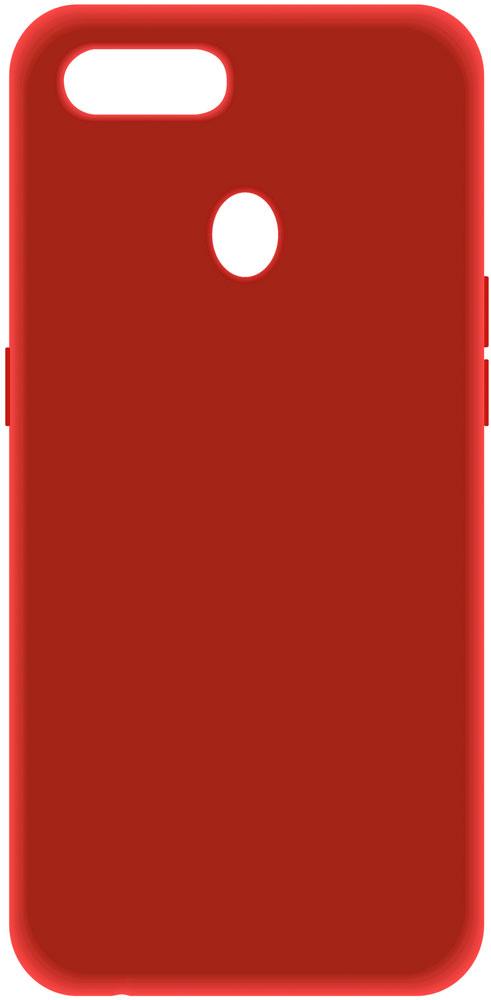 Клип-кейс LuxCase Oppo A5s силикон Red