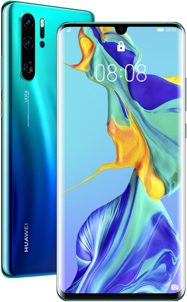 Фото - Смартфон Huawei P30 Pro 8/256Gb Aurora объектив