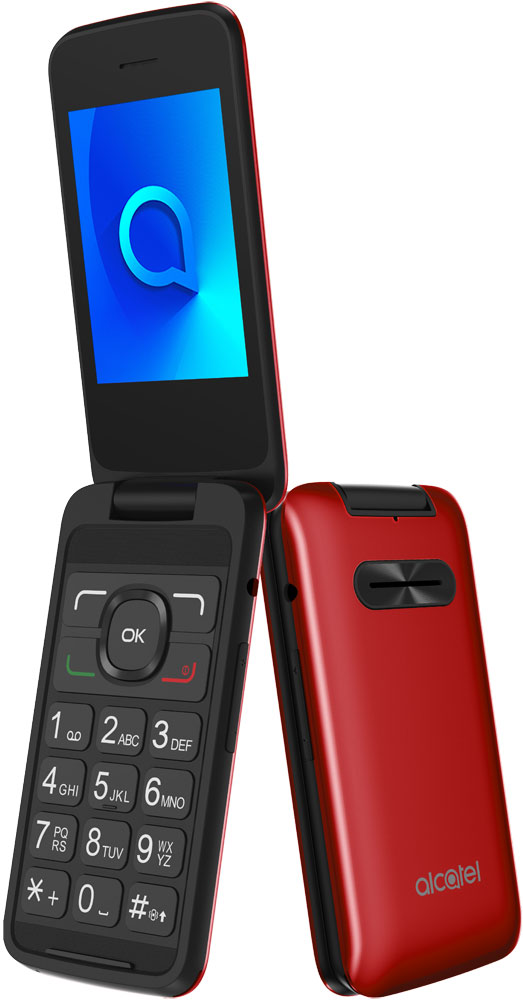 Мобильный телефон Alcatel One Touch 3025X Red телефон