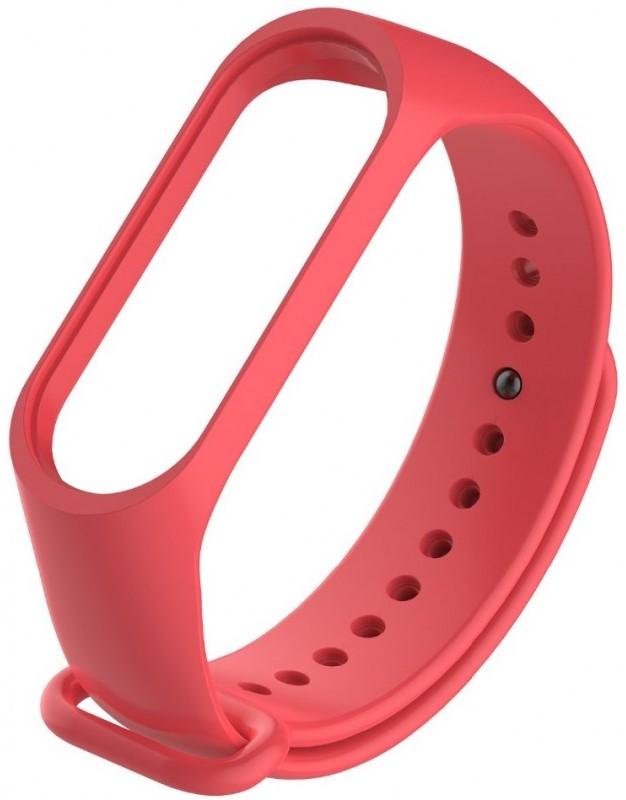 Ремешок для фитнес-трекера Xiaomi для Mi Band 3 силиконовый Red