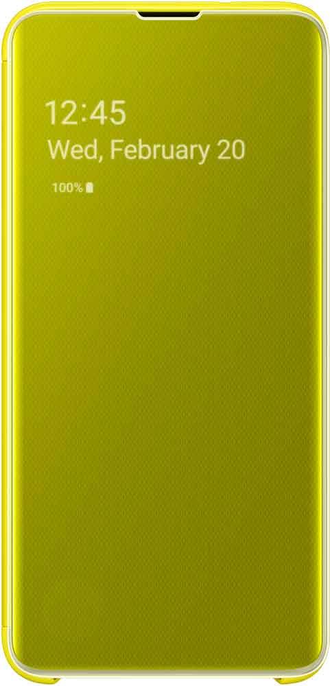 Чехол-книжка Samsung Galaxy S10e EF-ZG970C Yellow