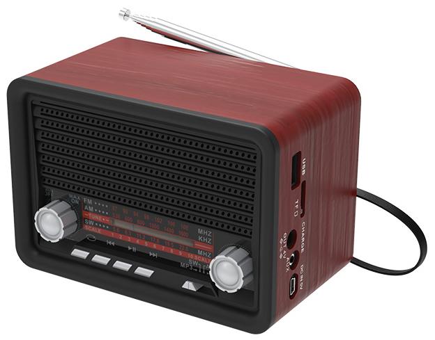 Портативный радиоприемник Ritmix RPR-030 Black фото