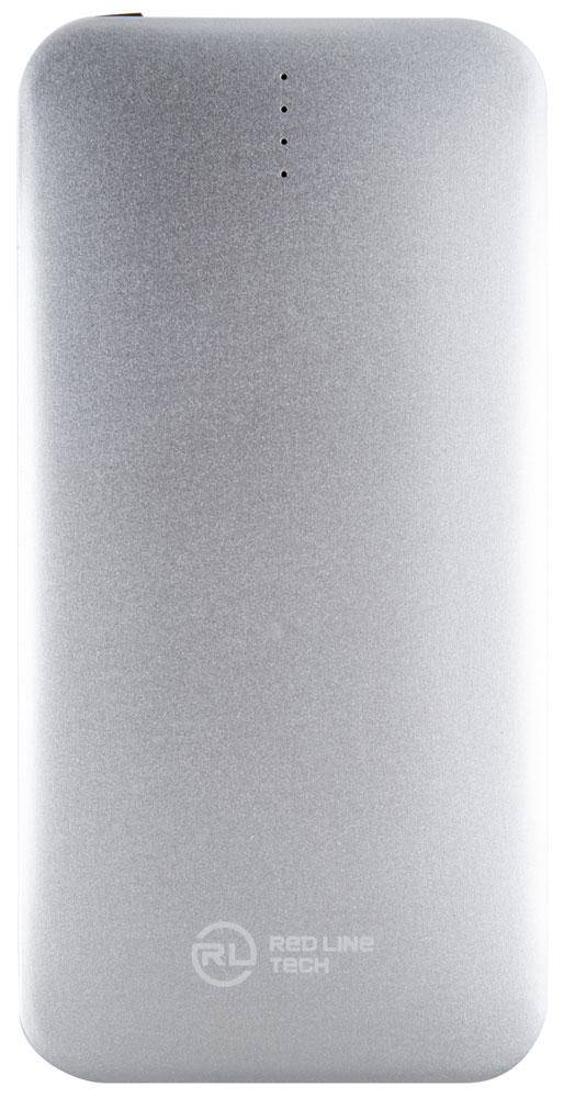Внешний аккумулятор RedLine B6000 6000mAh металл Silver фото