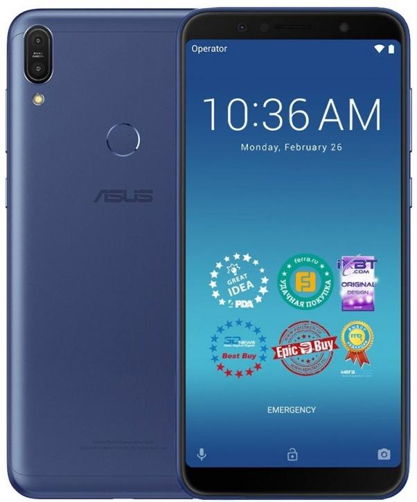 Фото - Смартфон Asus ZenFone Max Pro ZB602KL 32Gb Blue объектив