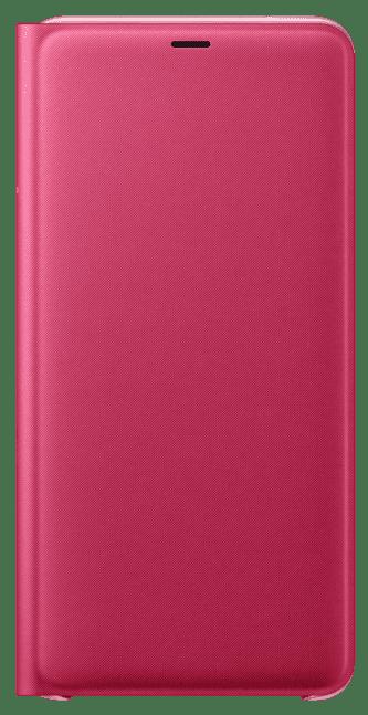 Чехол-книжка Samsung Galaxy A9 2018 Wallet Cover pink (EF-WA920PPEGRU) samsung ef wa710pzegru для galaxy a7 2016 flip wallet pink gold