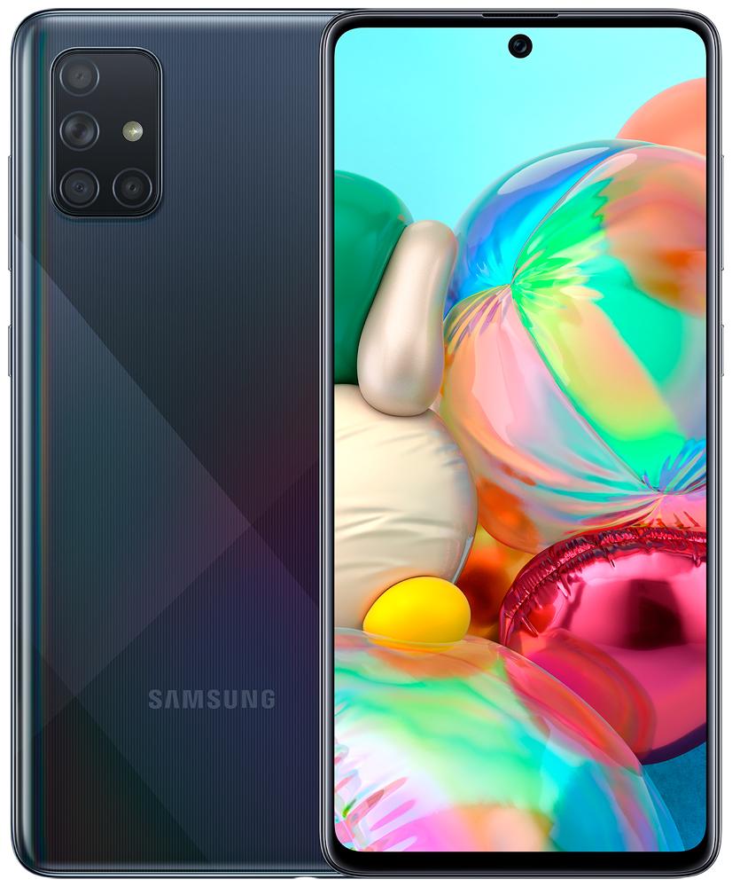 Смартфон Samsung A715 Galaxy A71 6/128Gb Black фото