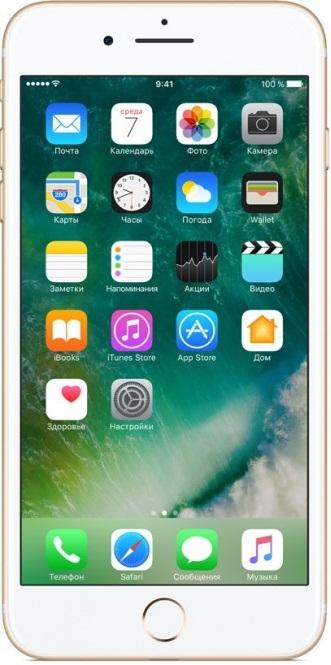 Фото - Смартфон Apple iPhone 7 Plus 128GB Gold (MN4Q2RU/A) объектив
