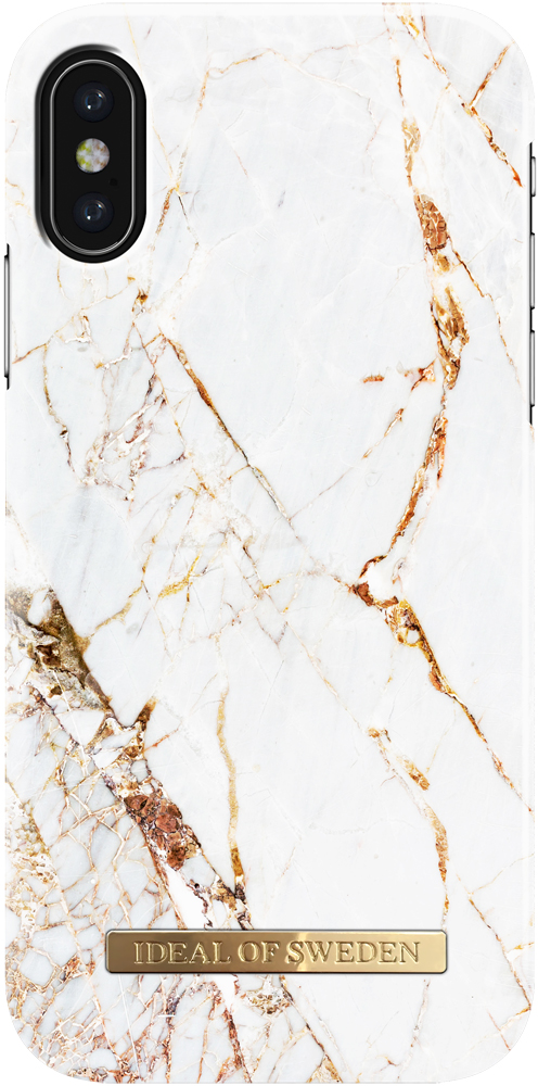 Клип-кейс Ideal iPhone X carrara Gold клип кейс ideal iphone x champagne birds