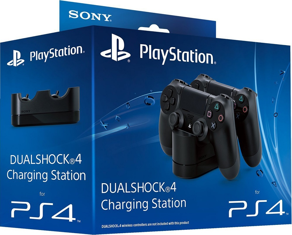 Зарядное устройство Sony PlayStation Dualshock Black refurbished sony playstation 3 dualshock wireless controller