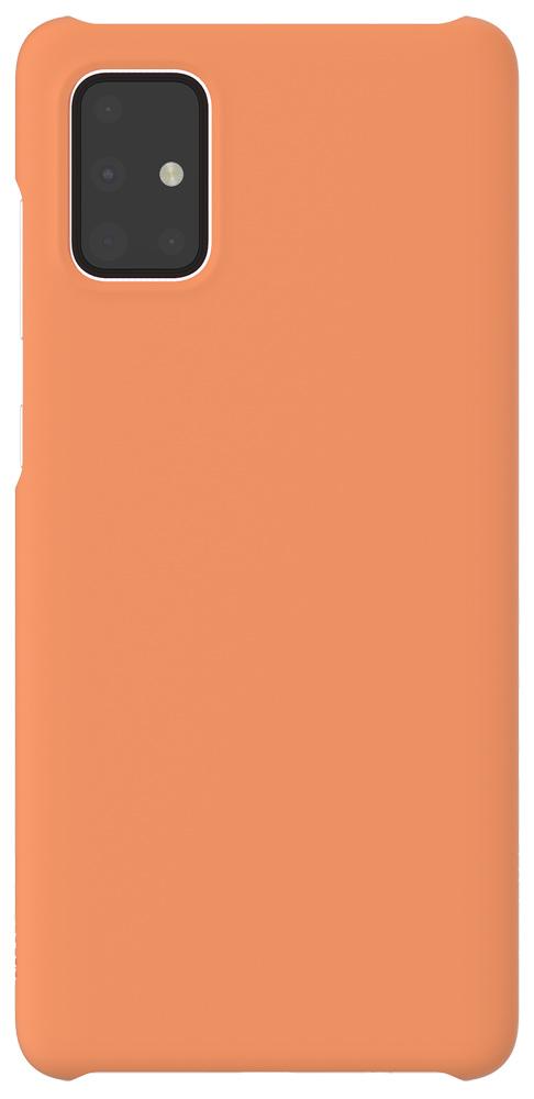 Клип-кейс WITS Samsung Galaxy A71 Orange (GP-FPA715WSAOR) чехол клип кейс samsung для samsung galaxy a71 wits premium hard case черный gp fpa715wsabr