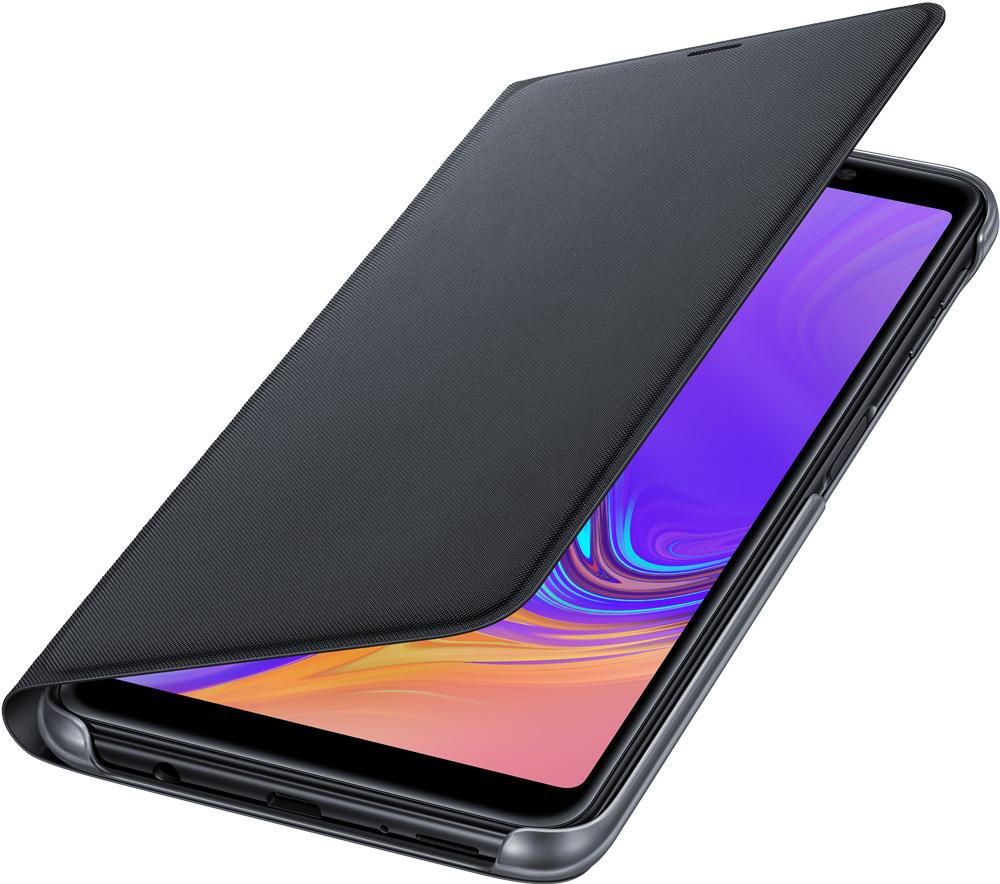 Чехол-книжка Samsung Galaxy A7 2018 EF-WA750PBEGRU Black free shipping 10pcs sot 23 transistor bav99 a7 [10pcs]