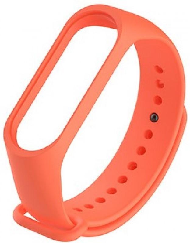 Ремешок для фитнес трекера Xiaomi для Mi Band 3 силиконовый Orange силиконовый ремешок для фитнес трекера xiaomi mi band 3 yellow