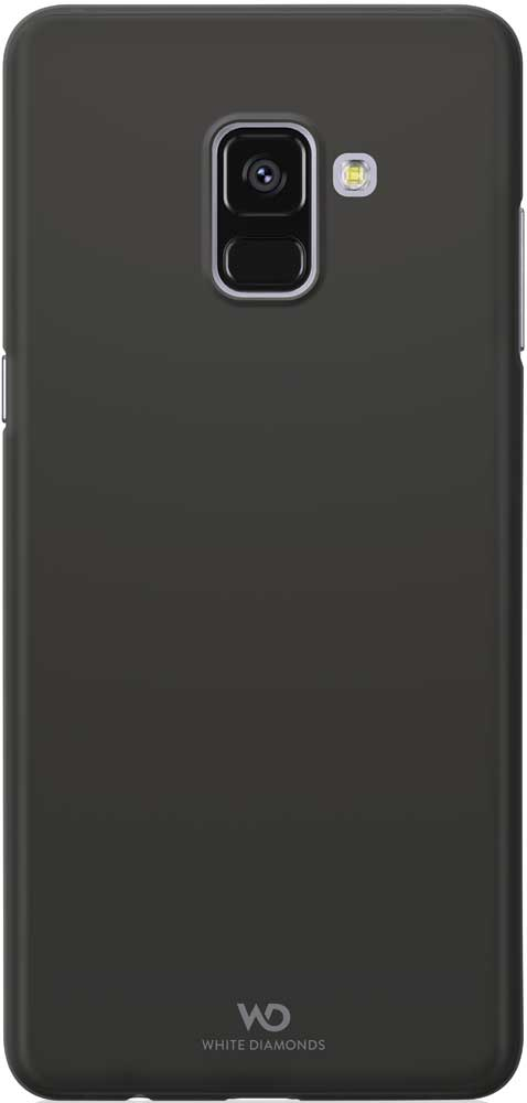 Клип-кейс White Diamonds Samsung Galaxy A8 тонкий пластик Black
