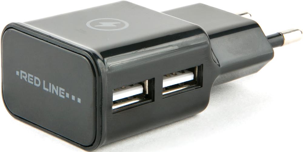 СЗУ RedLine универсальное 2 USB 2.1А Black фото