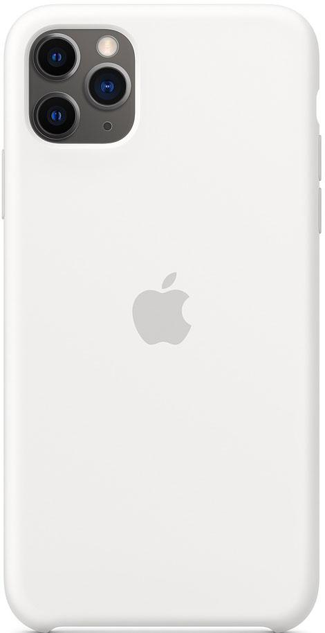 Клип-кейс Apple iPhone 11 Pro Max MWYX2ZM/A силиконовый White фото