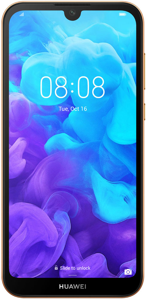 Смартфон Huawei Y5 2019 2/16Gb Brown смартфон