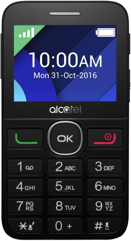 Мобильный телефон Alcatel One Touch 2008G White смартфон alcatel one touch 5023f pixi 4 plus power dual sim white