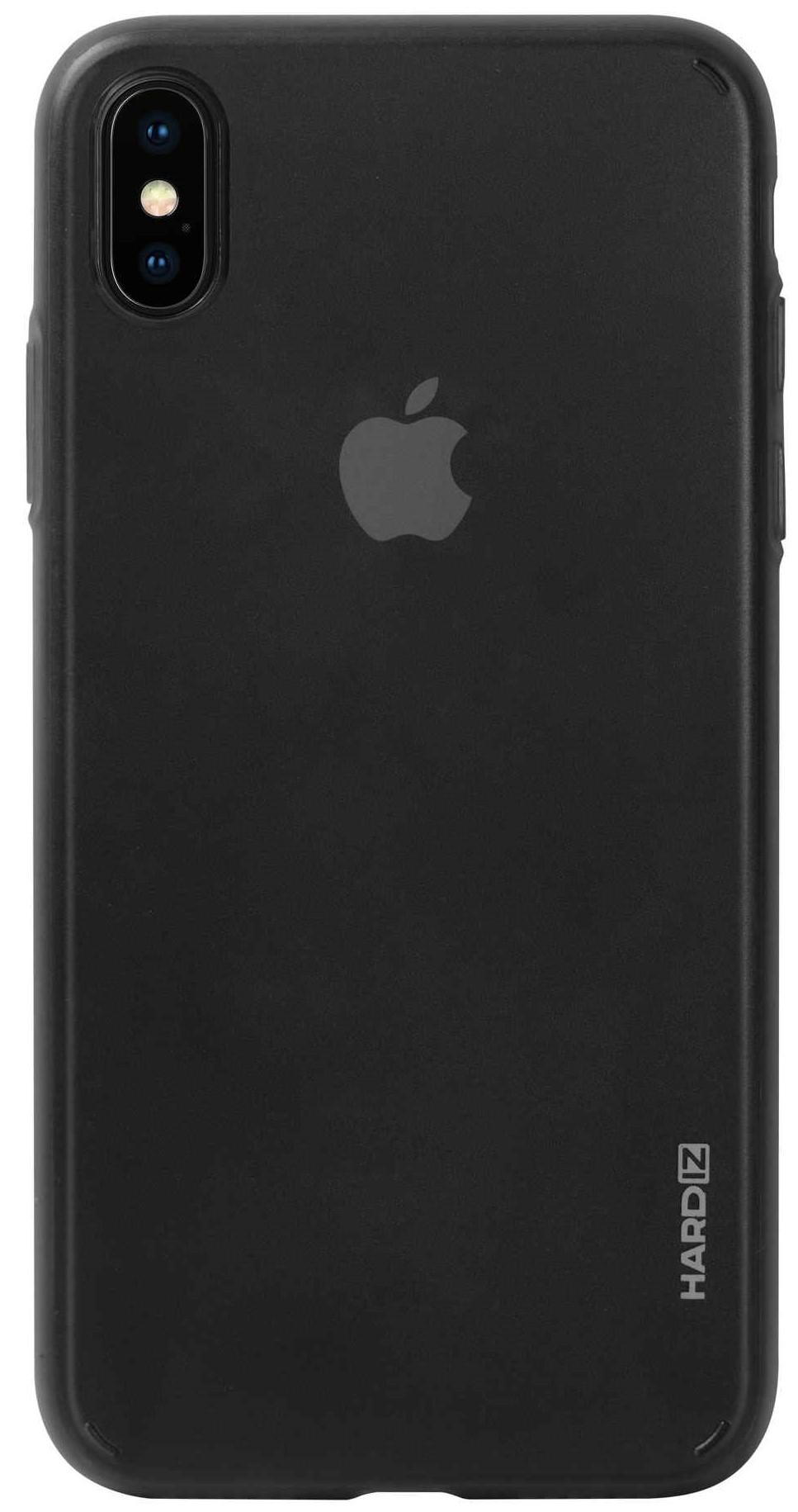 Клип-кейс Hardiz для Apple iPhone XS Max тонкий пластик Black клип кейс uniq apple iphone xs max тонкий пластик black