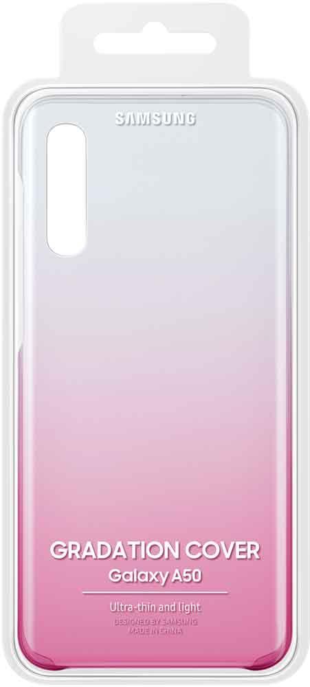 Клип-кейс Samsung Galaxy A50 EF-AA505C градиент Pink