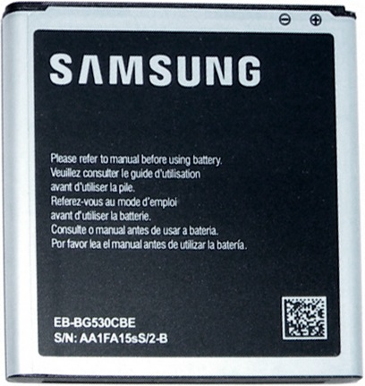 Съемный аккумулятор Samsung для Samsung Grand Prime SM-G530H (Original) аксессуар чехол накладка samsung galaxy grand prime sm g530h krutoff transparent black 11480
