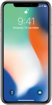 фото Смартфон Apple iPhone X 64GB Серебристый