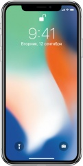 фото Смартфон Apple iPhone X 64GB Silver (Серебристый)