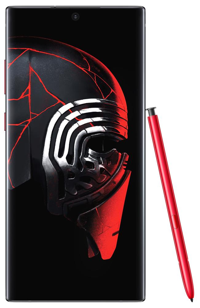 Смартфон Samsung N975 Galaxy Note 10+ 12/256Gb Star Wars edition Black фото