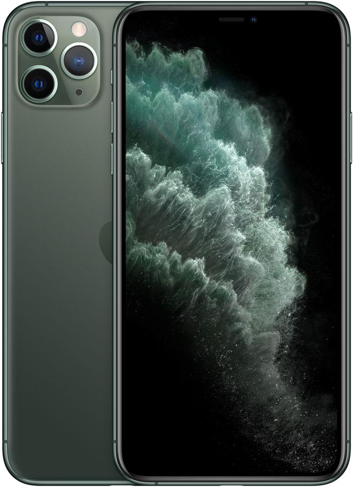 Смартфон Apple iPhone 11 Pro Max 256Gb Тёмно-зелёный фото