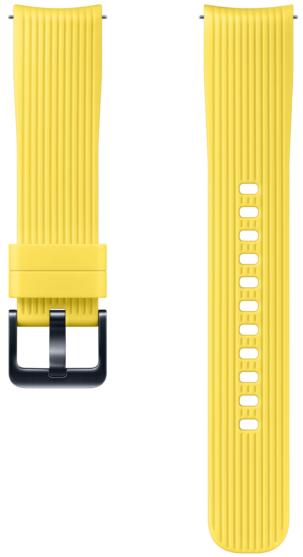 Ремешок для умных часов Samsung Galaxy Watch 42 мм Yellow free shipping 28pcs yellow copper screw on watch crown with gasket for watch repair