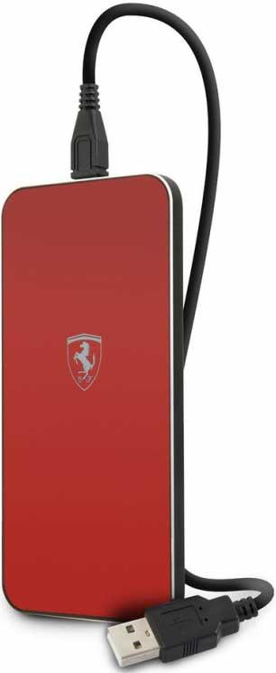 Фото - Беспроводное зарядное устройство Ferrari Wireless Red беспроводное зарядное устройство momax q dock wireless ud2 белый