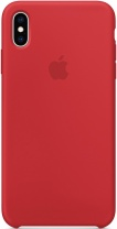 фото Клип-Кейс Apple iPhone XS Max силиконовый MRWH2ZM/A Red