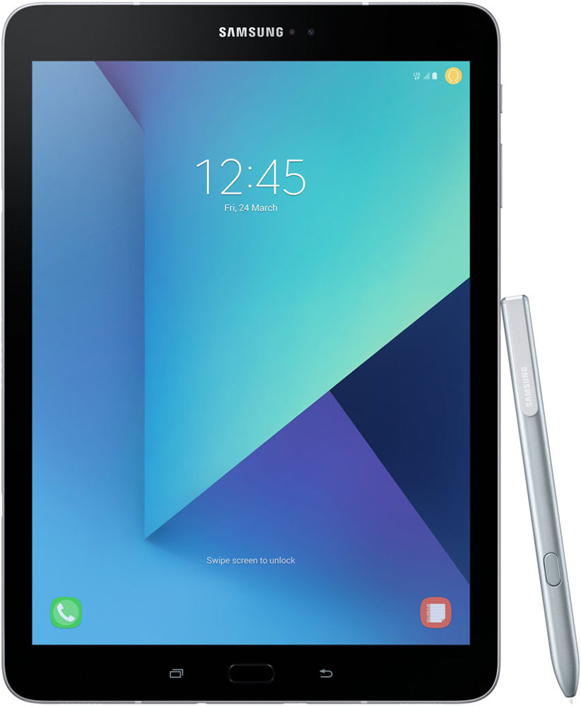 Планшет Samsung Galaxy Tab S3 9.7 SM-T825N 32Gb LTE Silver (SM-T825NZSASER) планшет samsung galaxy tab a sm t350 sm t350nzkaser