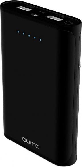 Внешний аккумулятор Qumo PowerAid 20800 mAh Black qumo poweraid 13500 внешний аккумулятор