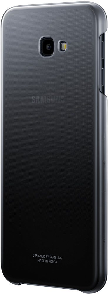 Клип-кейс Samsung Galaxy J4 Plus EF-AJ415CBEGRU Black сотовый телефон samsung galaxy j4 2018 3 32gb sm j415f black