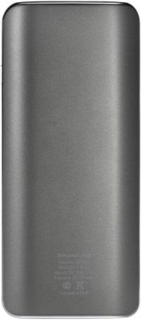 Внешний аккумулятор Nobby Comfort-018-001 12000mAh Graphite аккумулятор nobby comfort 019 001 15600 mah 2xusb 2 1a graphite 09353