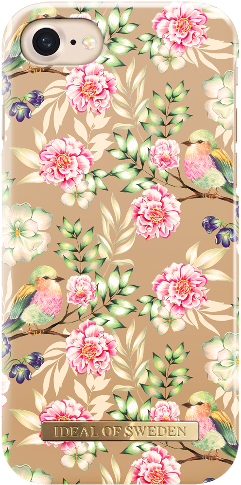 Клип-кейс Ideal iPhone 6S/7/8 champagne birds