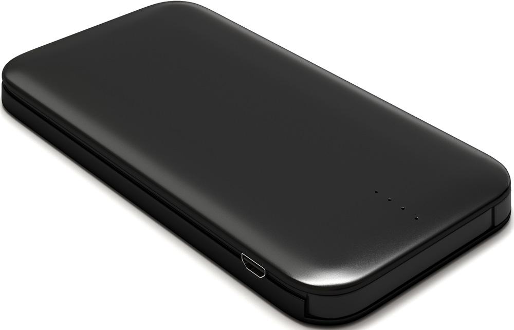 цена на Внешний аккумулятор RedLine B8000 8000 mAh металл Black