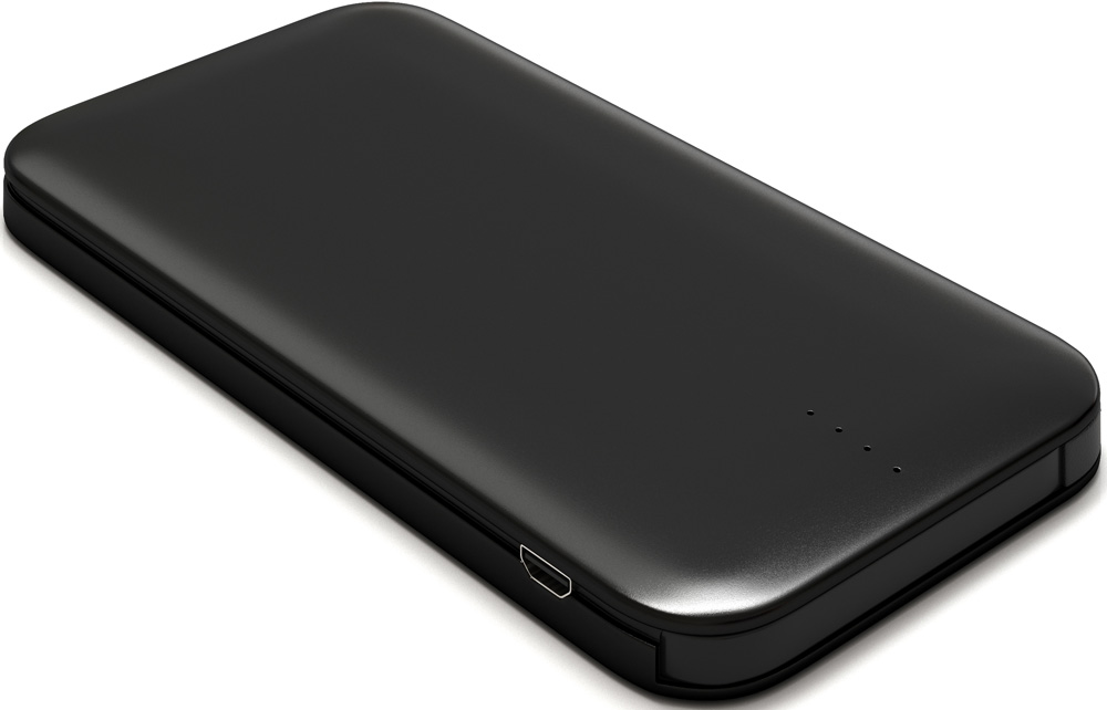 лучшая цена Внешний аккумулятор RedLine B8000 8000 mAh металл Black