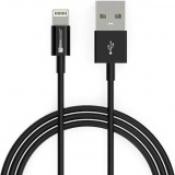 фото Дата-Кабель MediaGadget NL-002 USB-Apple Lightning 1м Black