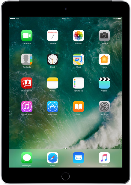 Планшет Apple iPad 2017 9,7 Wi-Fi + Cellular 128Gb Space Gray (MP262RU/A) планшет apple ipad 9 7 128gb space gray wi fi bluetooth ios mr7j2ru a