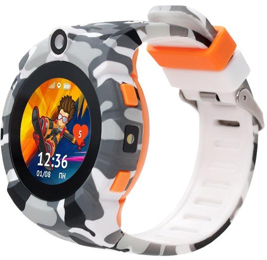 Детские часы Кнопка Жизни Aimoto Sport камуфляж фото