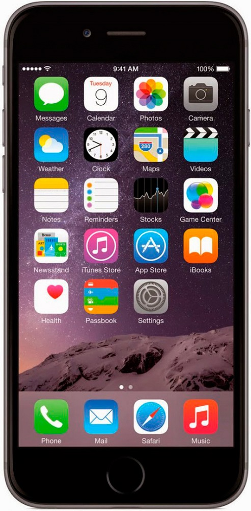 Смартфон Apple iPhone 6 32GB Space Gray