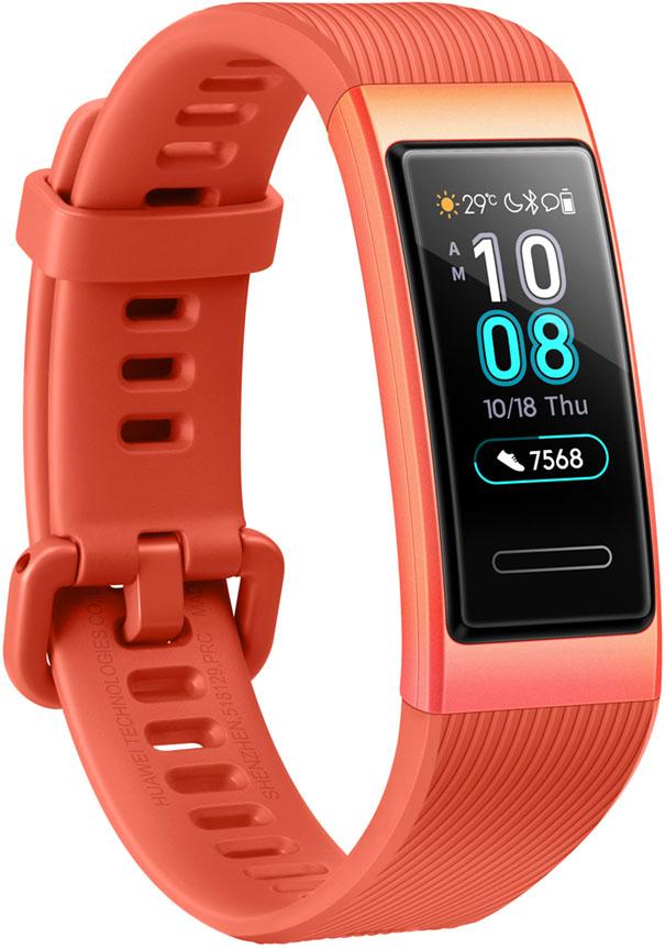 Купить со скидкой Фитнес-браслет Huawei Band 3 TER-B09 Coral Orange
