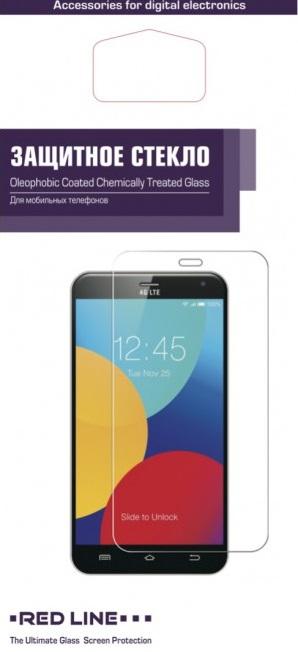Стекло защитное RedLine Nokia 6 прозрачное аксессуар защитное стекло gecko для nokia 6 1 zs26 gnok6 1