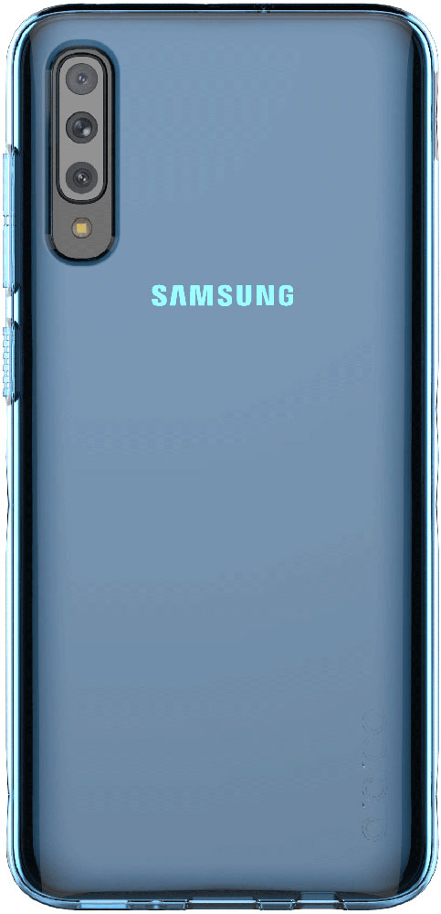Клип-кейс Araree Samsung Galaxy A70 GP-FPA705K Blue клип кейс araree samsung galaxy a10 gp fpa105k purple