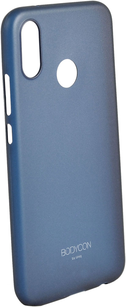 Клип-кейс Uniq Huawei P20 Lite bodycon Blue картридж brother btd60bk для brother dcp t310 t510w t710w черный 6500стр