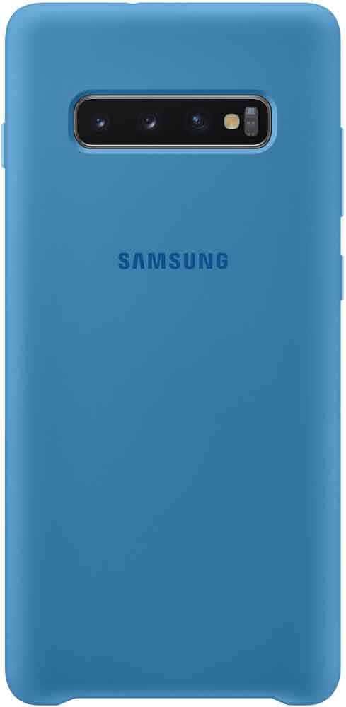 c2df30e6d6fa7 Клип-кейс Samsung Galaxy S10 Plus TPU EF-PG975TLEGRU Blue