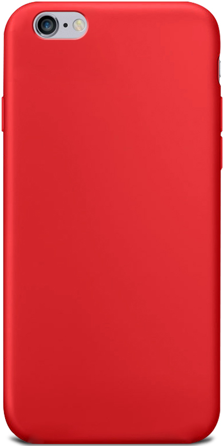 Клип-кейс Gresso Apple iPhone 6/6S TPU Red клип кейс inoi prism для apple iphone xr серебристый