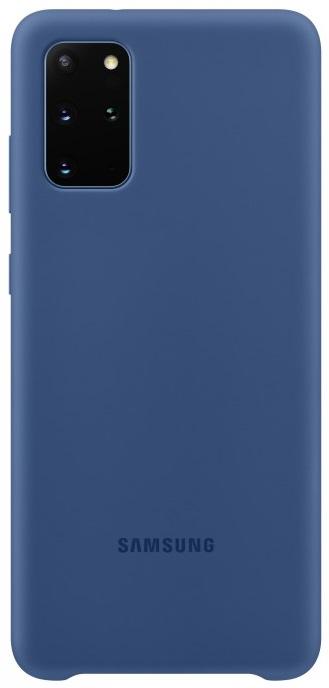 Клип-кейс Samsung Galaxy S20 Plus силиконовый Blue (EF-PG985TNEGRU) фото